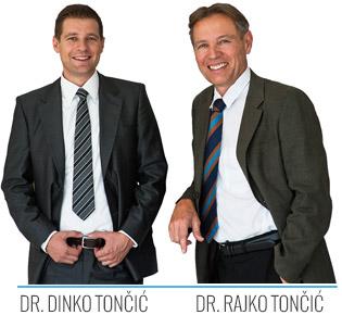 Dr. Rajko Tončić in Dr. Dinko Tončić Poliklinika Točnić