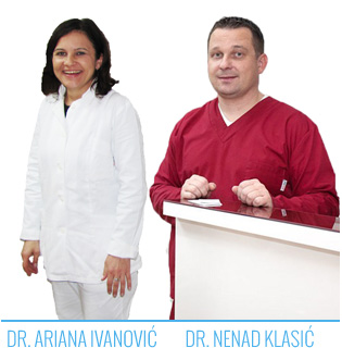 dr ariana ivanovic in dr nenad klasic