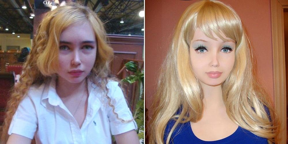 Lolita Richi je 16 letno dekle, ki trdi, da je do tega videza prišla po naravni poti.