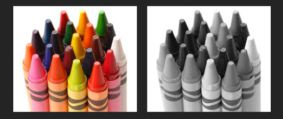 Tako vidijo ljudje z akromatopijo (vir: pixabay.com)